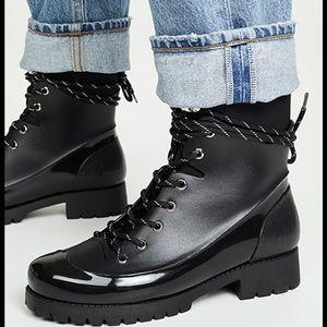 NEW Jeffrey Campbell Foggy Rain Boots